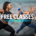 May Free Fitness Monthのお知らせ:2017年5月1日~31日