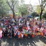 ハロウィンパレード大盛況でした。